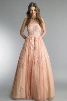 Basix Black Label blush wedding gown